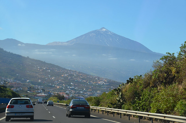Mount Teide from the TF5, Tenerife