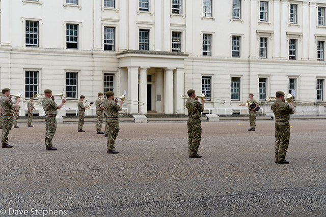 Royal Guard Band Practice - In Fatigues