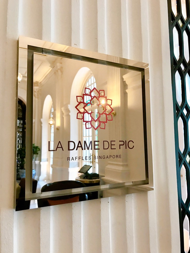 La Dame De Pic at Raffles Singapore