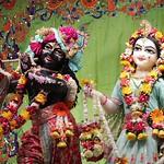ISKCON Noida Deity Darshan 07 Aug 2019