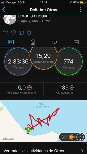 Track de la navegació