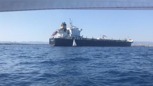 Passant el port de Tarragona