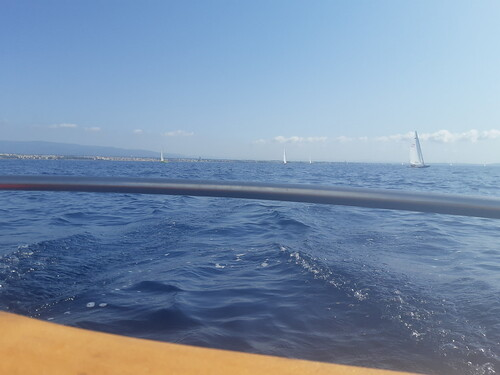 Navegació 2a etapa entre Cambrils i Riumar