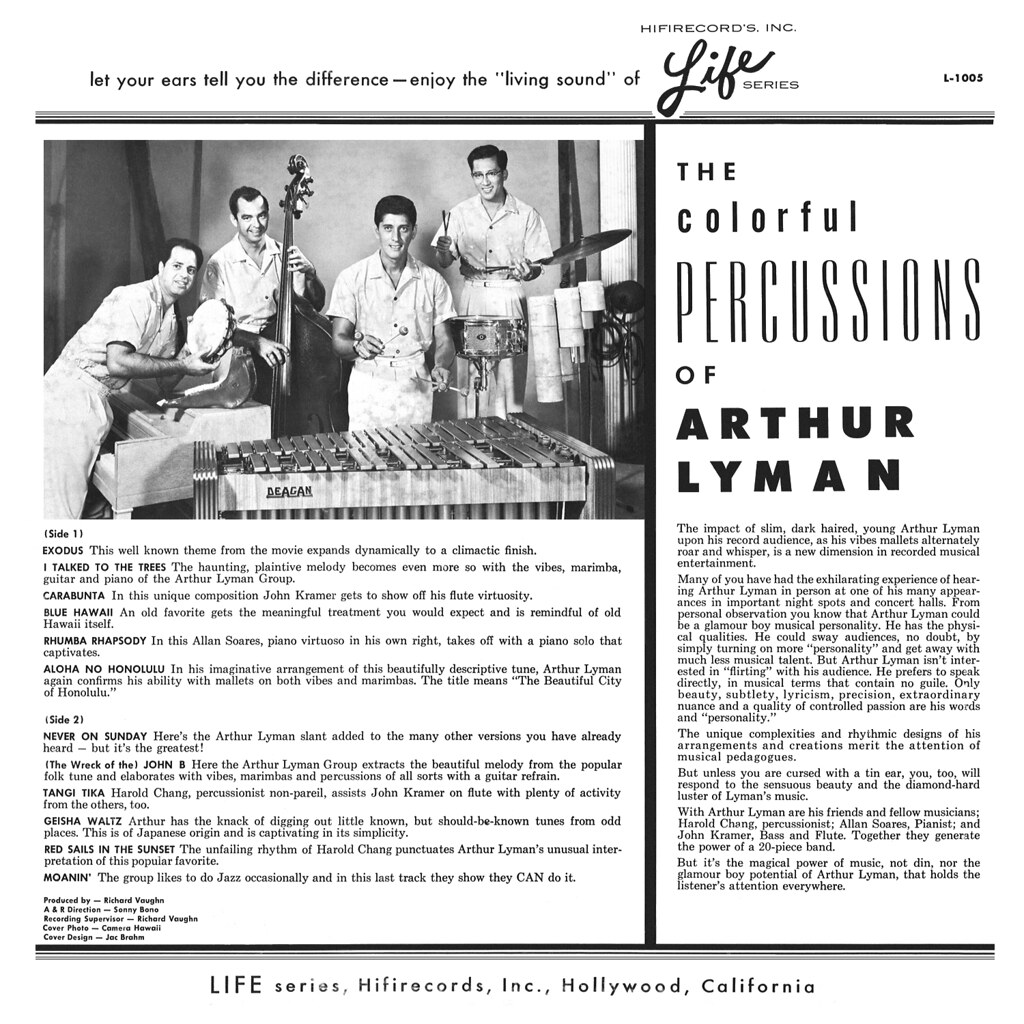 Arthur Lyman - The Colourful Percussions of Arthur Lyman