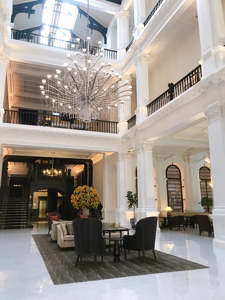 Raffles Hotel Singapore has updated itself but retained all its old world charm