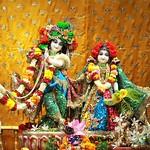 ISKCON Punjabi Bagh Deity Darshan 07 Aug 2019