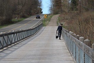 Walking The KRVT Trail