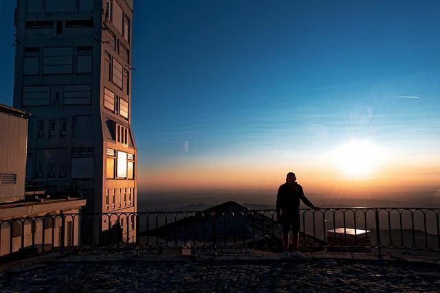 Sunset sur le Mont Ventoux