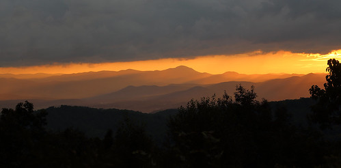 sunset westernnorthcarolina blueridge landscape orange canoneos6d canonef24105mmf4lisusm