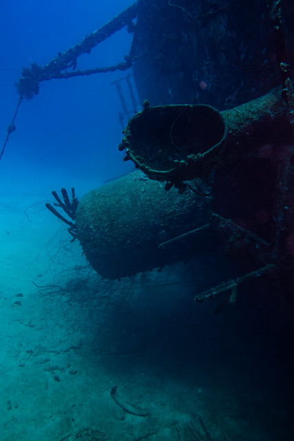 The ship wreck of the Hilma Hooker