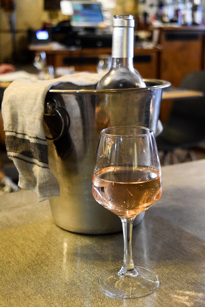 Rose Wine in Combourg, Brittany