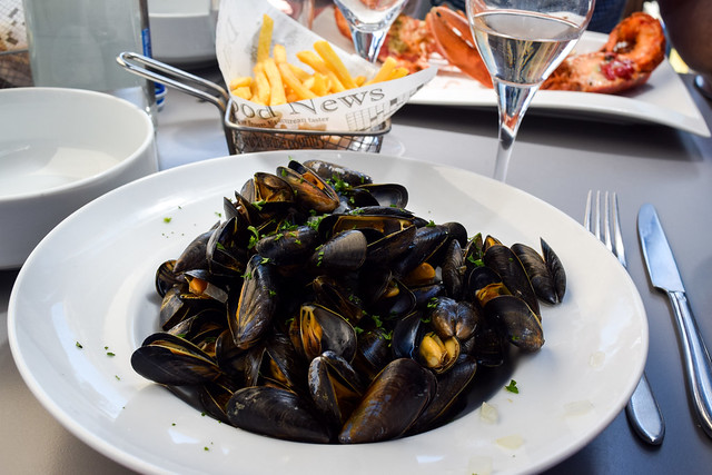 Moules Marine in Cancale, Brittany