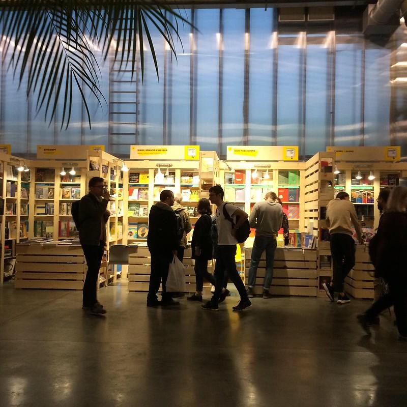 Книжная ярмарка в Гараже