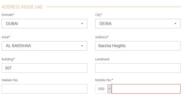1577 How to Apply for UAE (Dubai) E-Visa for GCC Residents 12