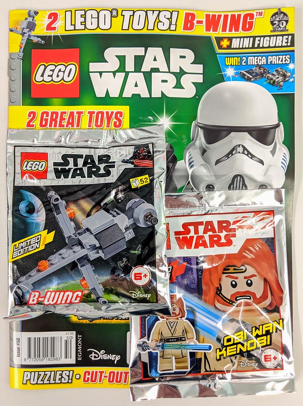LEGO Star Wars Magazine August