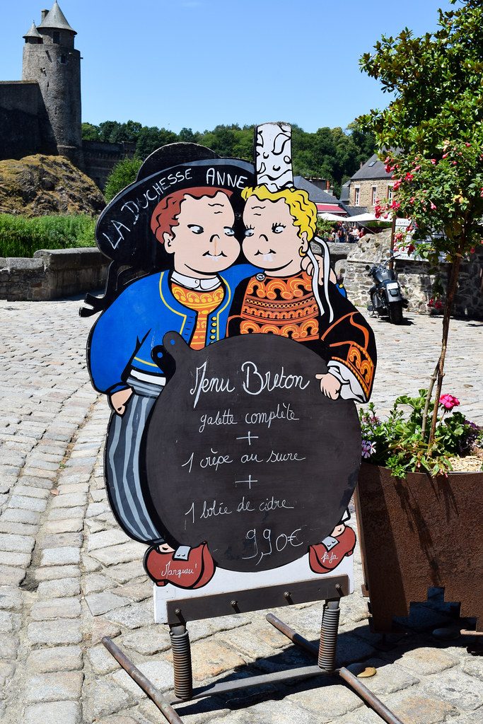 Duchesse Anne Creperie in Fougeres, Brittany