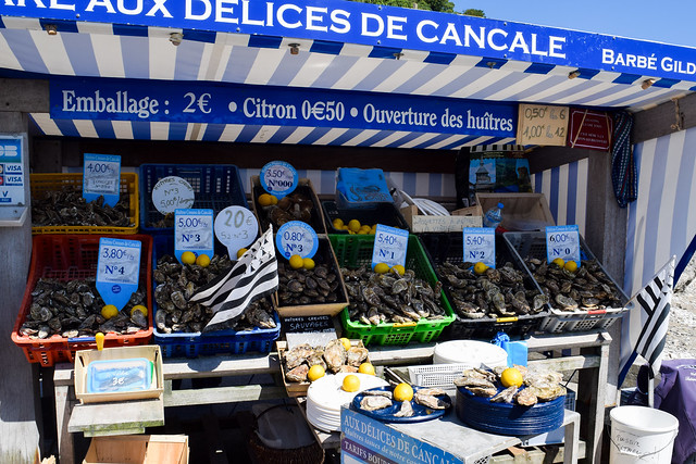 Cancale Oyster Market, Brittany
