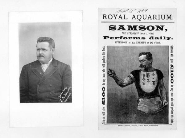 Samson The Strongest Man Living