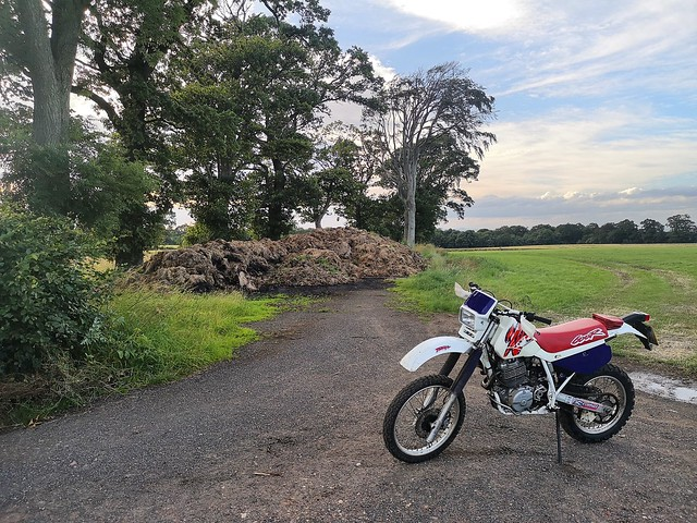 XR600 and Dam Bike Run