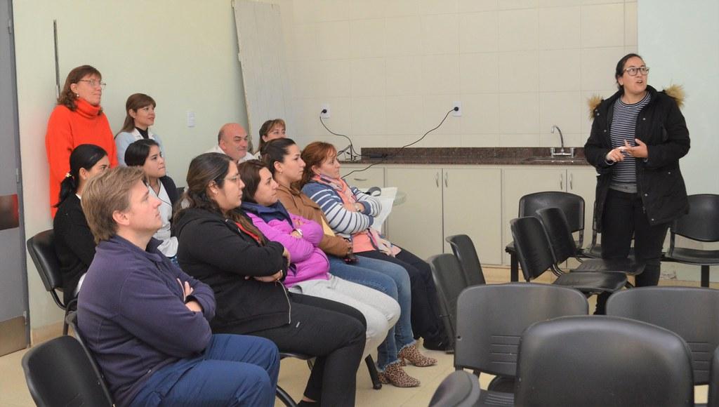 2019-08-07 SALUD: Capacitación Triage Albardón