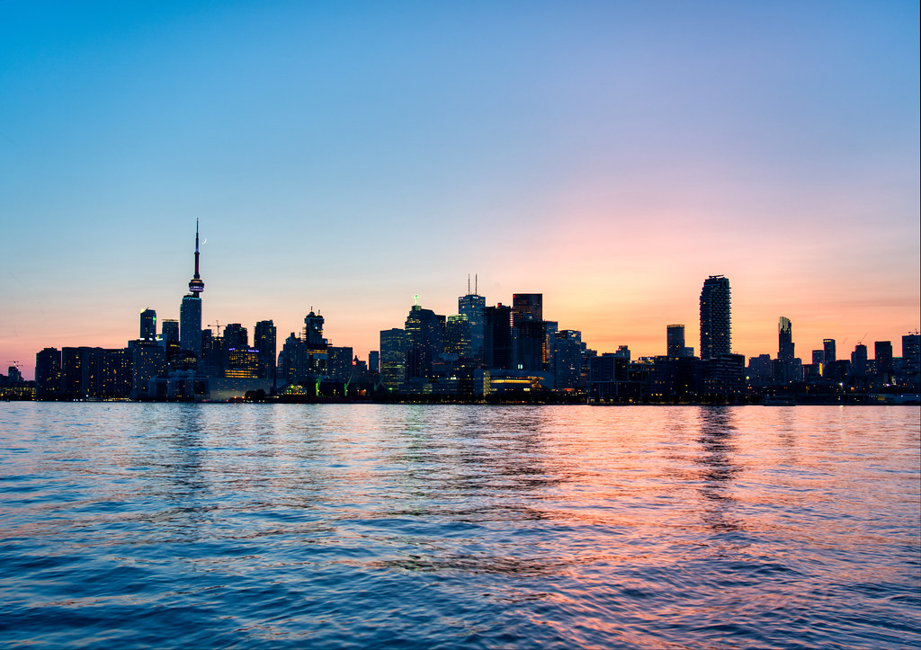 Toronto Skyline | Here's a view of the incredible Toronto sk… | Flickr