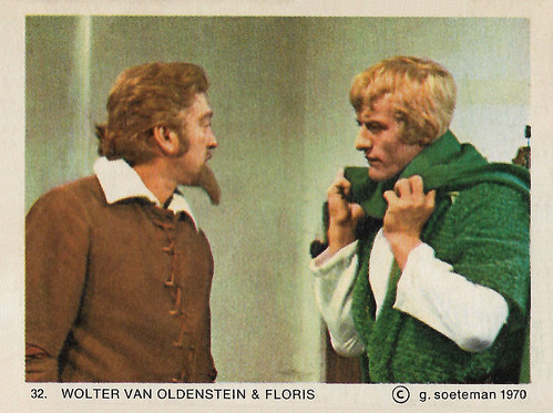 Ton Vos and Rutger Hauer in Floris (1969)