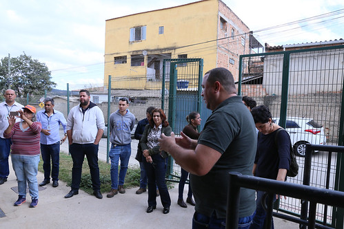 Visita técnica para verificar as condições de estrutura e segurança local do CRAS PAULO VI - Comissão de Direitos Humanos e Defesa do Consumidor