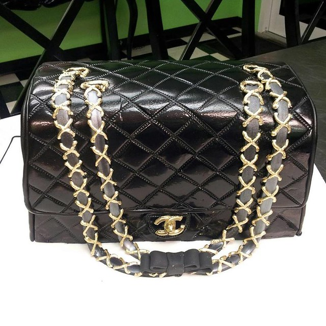 Chanel Handbag Cake by We Take The Cake