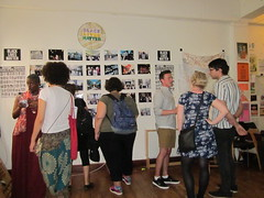 black lives matter art show. london