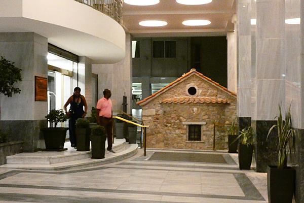 chapelle et hôtel