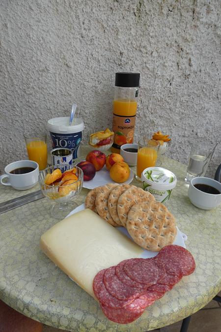 premier petit-déjeuner