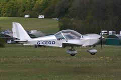 G-CEGO Evektor EV-97A [PFA 315A-14552] Popham 050519