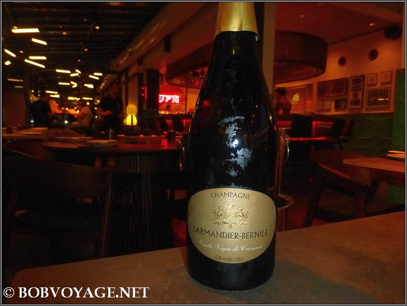 Larmandier Bernier Vieilles Vignes de Cramant grand cru 2007 ששתינו ב-קיטו קאטו (Kitto Katto)