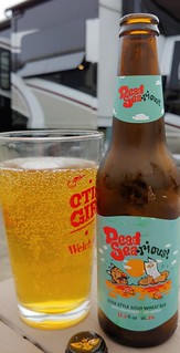 July 26 2019 Carakale Brewery, Dead Sea-rious Gose Wheat Beer from Jordan