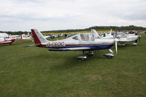 G-CEOC Tecnam P2002 Sierra [PFA 333-14604] Popham 050519