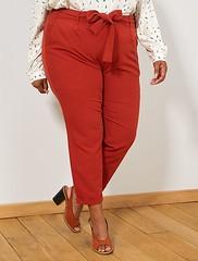 pantalon-paperbag-avec-revers-rouge-ocre-grande-taille-femme-xe580_1_frf2