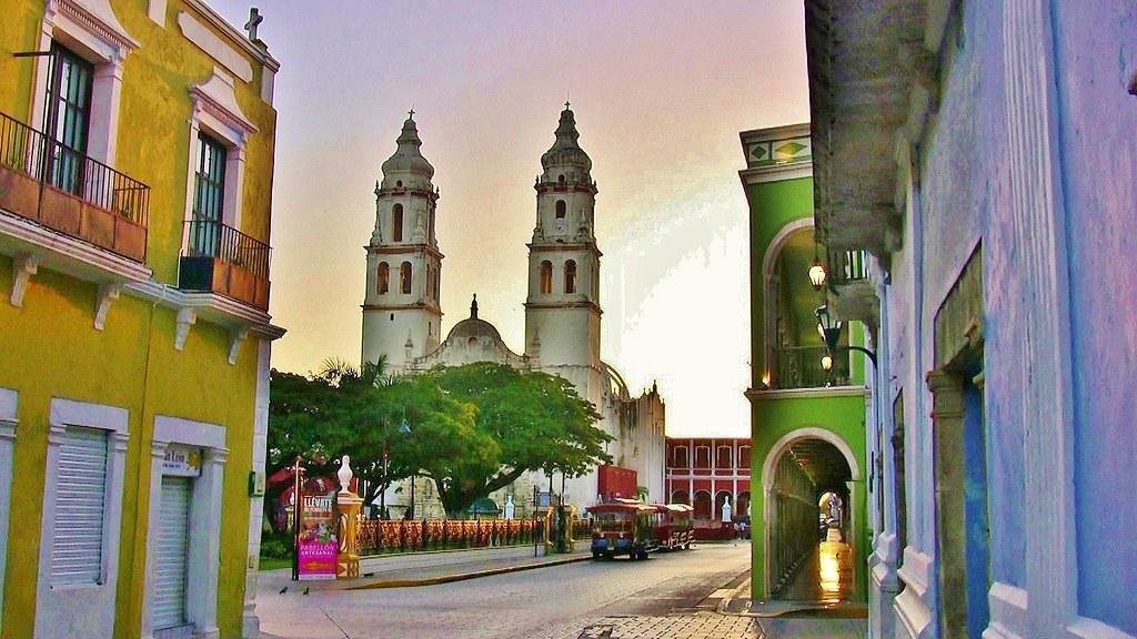 MEXICO, frühmorgends in Campeche, 19174/11839