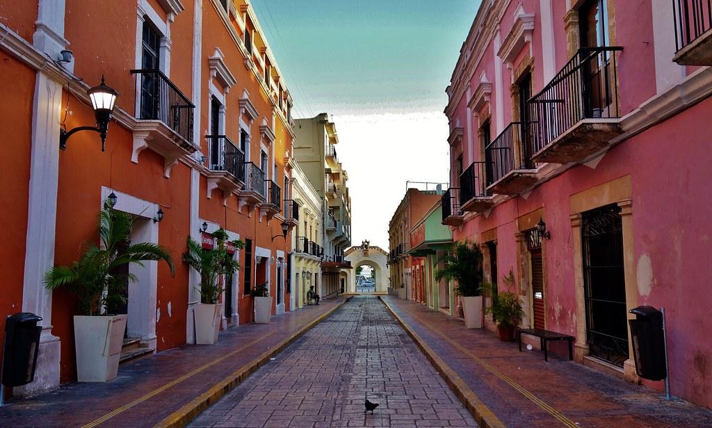 MEXICO, frühmorgends in Campeche, 19178/11843