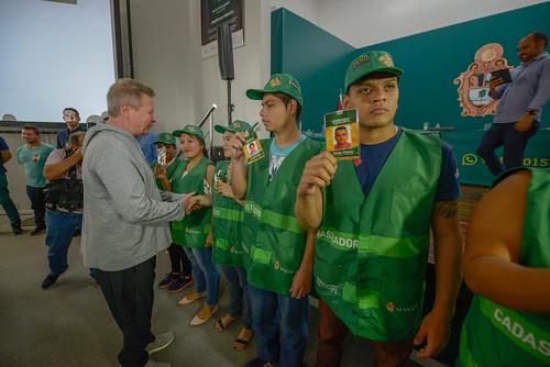 Cadastradores 07.08.19 Prefeito Arthur lança projeto Mapa de Manaus