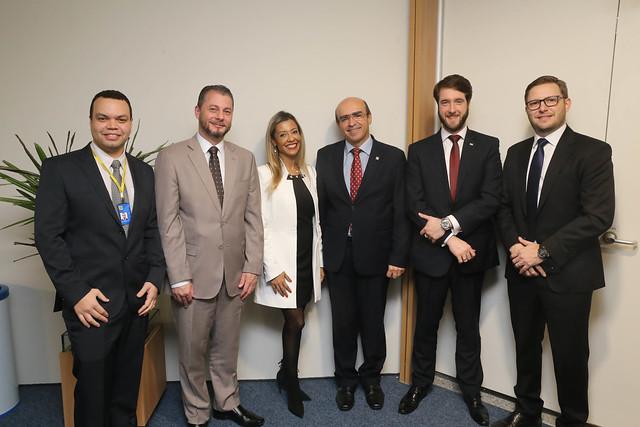 07.08.2019- Presidente da OAB SP na palestra aos advogados do Banco do Brasil
