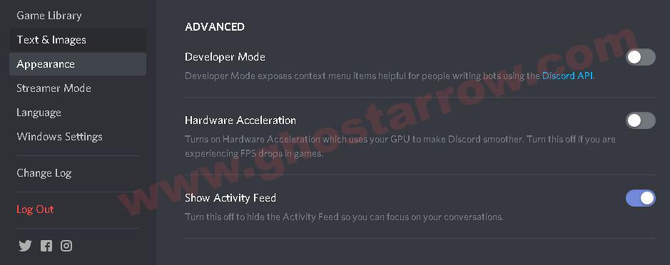 Optimize Discord