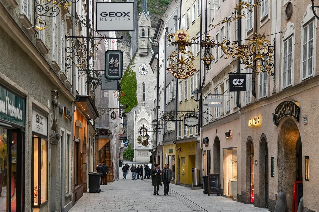 Salzburg: Getreidegasse