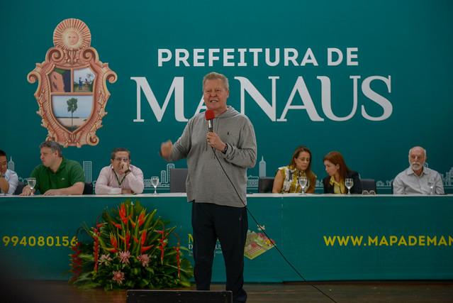 07.08.19 Prefeito Arthur lança projeto Mapa de Manaus - Prefeitura de Manaus