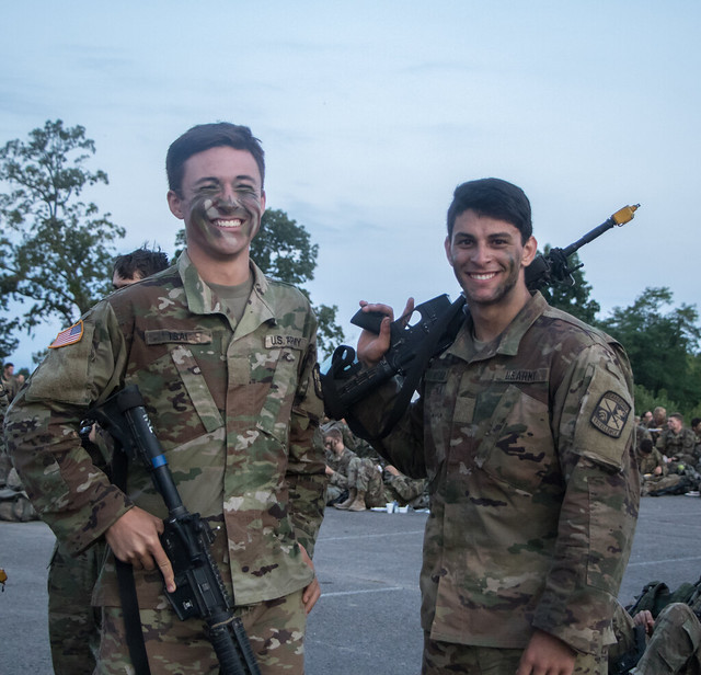 10th Regiment, Advanced Camp, 12-Mile Ruck March, August 7, 2019.
