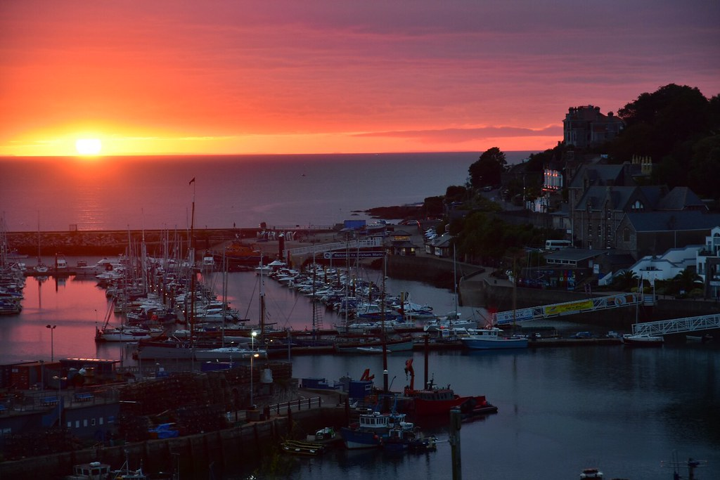 Brixham sunrise, Devon