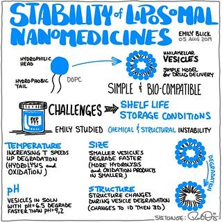 Stability of Liposomal Nanomedicines