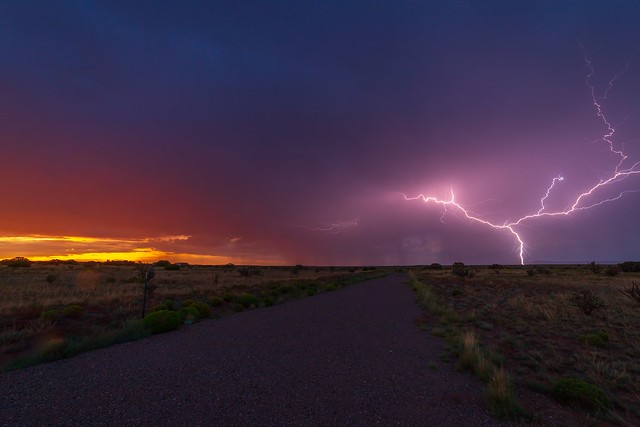 Sunrise Lightning