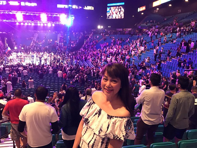 OMB at Pacquiao vs Thurman, MGM