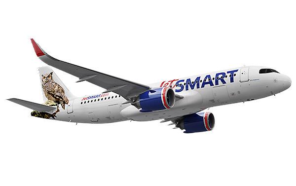 JetSMART A320neo render Buho (JetSMART)