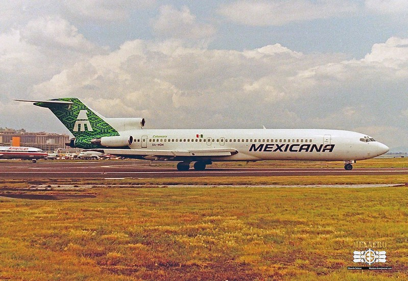 Mexicana / Boeing 727-264 (Adv) / XA-HOH